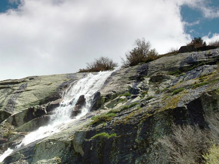 Ruta de senderismo Chorro Grande y Jardines de la Granja de San Ildefonso