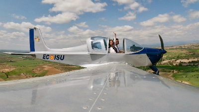 vuelo en avioneta en Madrid