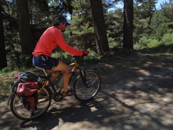 bicicleta en los molinos