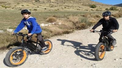 bicicleta electrica familia