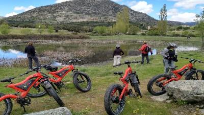 Ruta en Bicicleta Eléctrica en Zarzalejo