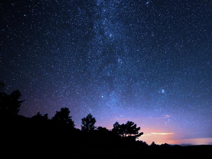 senderismo nocturno los molinos