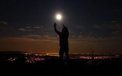 Luna Llena en la Sierra de Madrid