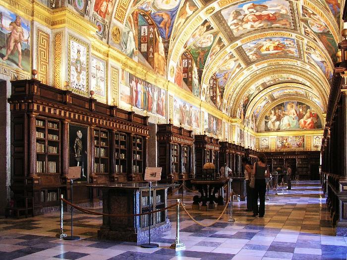 visita guiada monasterio san lorenzo de el escorial