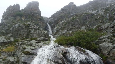 senderismo cascada litueros somosierra