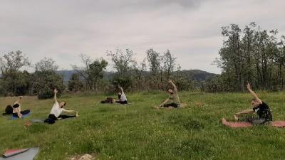 yoga en Cercedilla