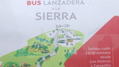 bus lanzadera sierra
